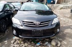 Foreign Used Toyota Corolla 2013 Model Black for Sale