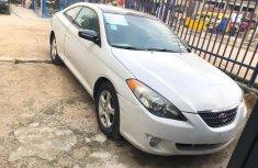 Nigeria Used Toyota Solara 2005 Model White for Sale