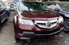 Foreign Used Acura MDX 2008 Model Brown for Sale