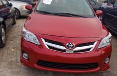Foreign Used Toyota Corolla Sport Edition 2012 Model Red