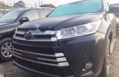 Foreign Used Toyota Highlander 2017 Model Black