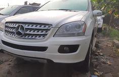 Foreign Used Mercedes-Benz ML350 2008 Model White