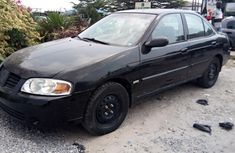 Foreign Used Nissan Sentra 2002005 Model Black