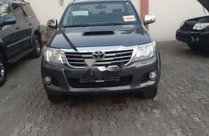 Foreign Used Toyota Hilux 2013 Model Gray
