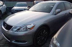 Foreign Used Lexus GS 2008 Model Silver