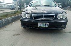 Nigeria Used Mercedes Benz C230 2007 Model Black for Sale