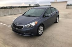 Foreign Used  Kia Forte 2015 Model Blue
