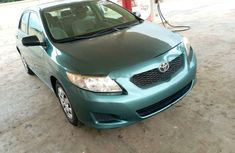 Foreign Used Toyota Corolla 2009 Manual 2009 Model Green