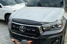 Foreign Used Toyota Hilux 2019 Model Silver