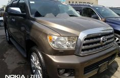 Foreign Used Toyota Sequoia 2011 Model Brown