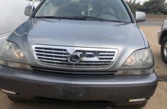 Nigeria Used Lexus RX 2002 Model Gray