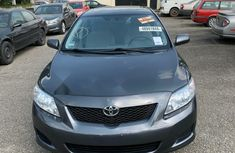 Foreign Used Toyota Corolla 2010 Model Grey