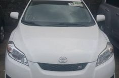 Foreign Used Toyota Matrix 2009 Model White
