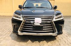 Foreign Used Lexus 570 2017 Model Black