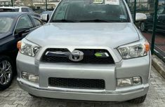 Foreign Used Toyota 4-Runner 2010 Model Silver