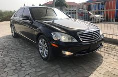 Foreign Used Mercedes-Benz S550 2007 Model Black