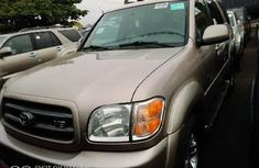 Foreign Used Toyota Sequoia 2007 Model Gold
