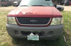 Nigeria Used Ford Explorer 2002 Model Red