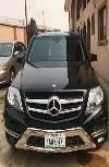 Nigeria Used Mercedes-Benz GLK 2014 Model Black