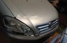 Foreign Used Toyota Avensis 2006 Model Gold
