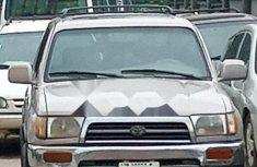 Nigeria Used Toyota 4-Runner 1997 Model Silver
