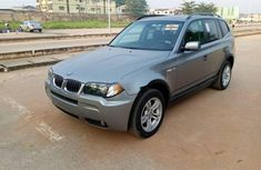 Foreign Used BMW X3 2006 Model Gray