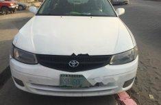 Nigeria Used Toyota Solara 2004 Model White