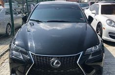 Foreign Used Lexus GS 2016 Model Black