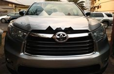 Foreign Used Toyota Highlander 2016 Model Silver