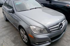 Foreign Used Mercedes-Benz C250 2012 Model Silver