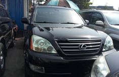 Foreign Used Lexus GX 2005 Model Black