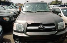 Foreign Used Toyota Sequoia 2007 Model Gray