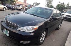 Nigeria Used Toyota Camry 2004 Model Black