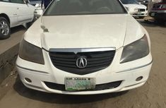 Nigeria Used Acura RL 2004 Model White