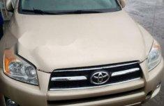 Foreign Used Toyota RAV4 2010 Model Beige