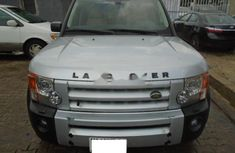 Nigeria Used Land Rover LR3 2006 Model Silver