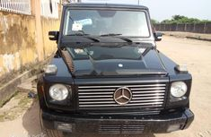 Foreign Used Mercedes-Benz G550 2005 Model Black