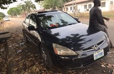 Nigeria Used Honda Accord EOD 2005 Model Black