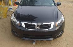 Foreign Used Honda Accord 2010 Model Black