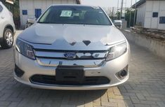 Foreign Used Ford Fusion 2012 Model Silver