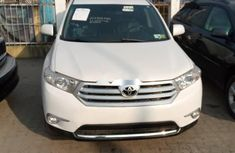 Foreign Used Toyota Highlander 2011 Model White