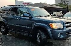 Foreign Used Toyota Sequoia 2006 Model Blue