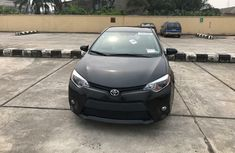Foreign Used Toyota Corolla 2018 Model Black