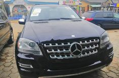Foreign Used Mercedes-Benz ML350 2010 Model Blue