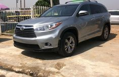 Foreign Used Toyota Highlander 2015 Model Silver