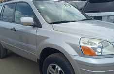 Foreign Used Honda Pilot 2005 Model Silver
