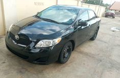 Tokunbo Toyota Corolla 2009 Model Black