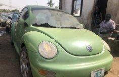 Nigeria Used Volkswagen Beetle 2003 Model Green
