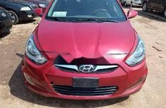 Nigeria Used Hyundai Accent 2011 Model Red