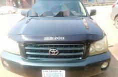 Nigeria Used Toyota Highlander 2003 Model Green